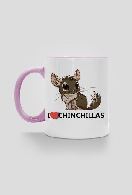 I love Chinchillas - pink