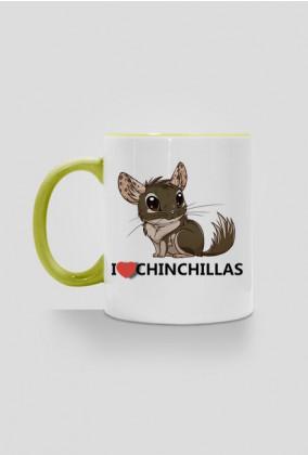 I love Chinchillas - green