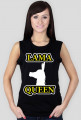 Lama Queen by Shantee # czarna bez rękawów