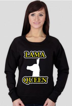 Lama Queen by Shantee # czarna długi rękaw