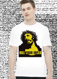 Koszulka Kill your idols biała