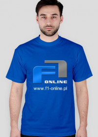 Koszulka, nieb., duże logo
