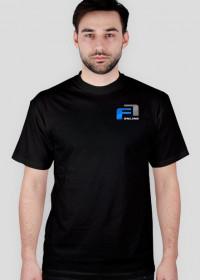 Koszulka, czarna, małe logo