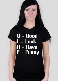 GL HF - Koszulka Black
