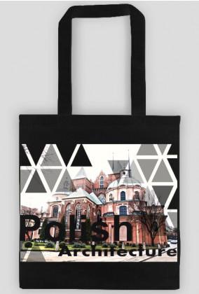 polish architecture - Wrocław black