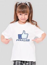 Koszulka PolecamNS (Dziecięca - Dziewczęca)