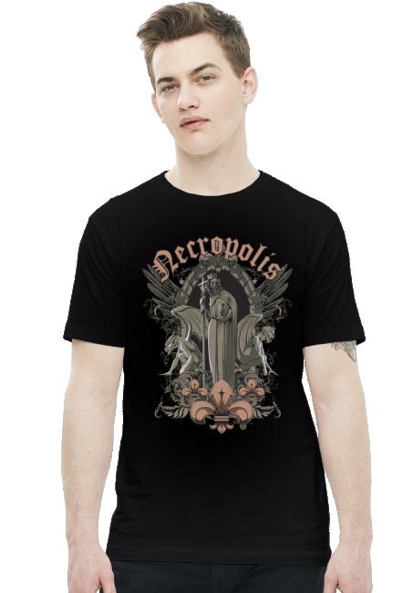 Koszulka - Necropolis 2 - koszulki nietypowe, śmieszne - chcetomiec.cupsell.pl
