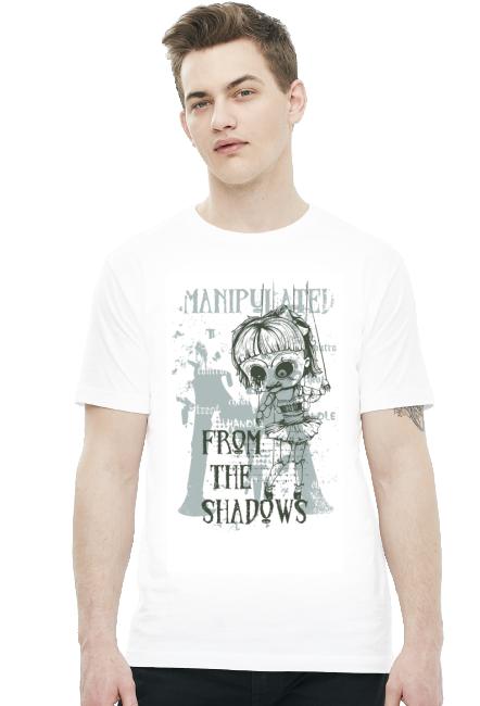 Koszulka - Zmanipulowany z cienia - koszulki nietypowe, śmieszne - chcetomiec.cupsell.pl