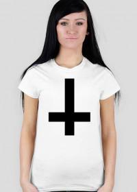 Inverted Cross white female damska