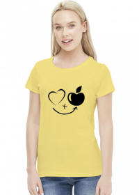 Serce + jabłko