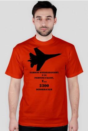 T-shirt męski F16