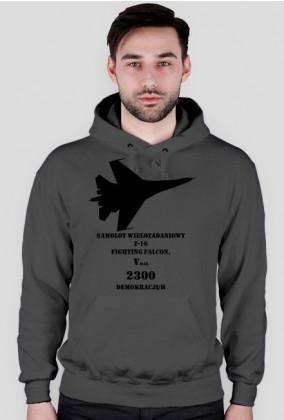 bluza z kapturem męska F-16
