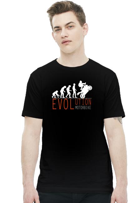 Evolution motorbike - koszulka męska
