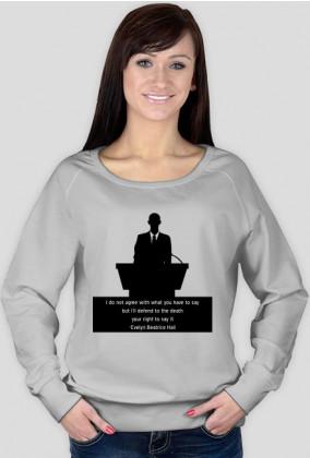 bluza damska wolność słowa