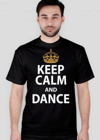 Keep Calm And Dance Czarna