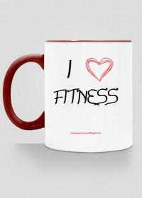 """Kubek """"I love Fitness"""""""