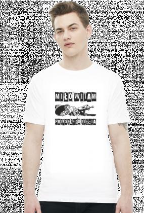 """Koszulka męska """"Miło witam przyszłego zięcia"""""""