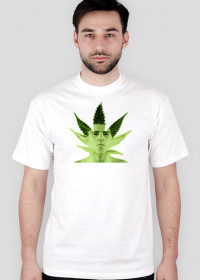 Nick Diaz Weed MMA T-Shirt White Men