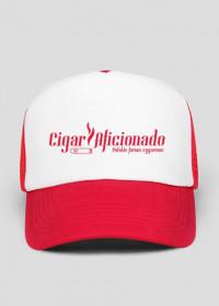 Czapka #CigarAficionado_red