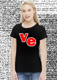 Dwie połówki - koszulka love damska