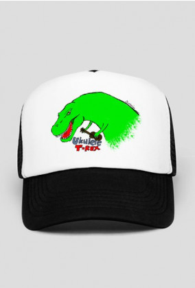 Ukulele T-Rex czapka