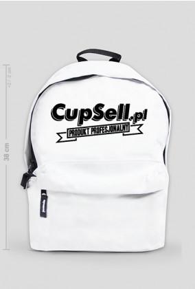 Plecak biały mały