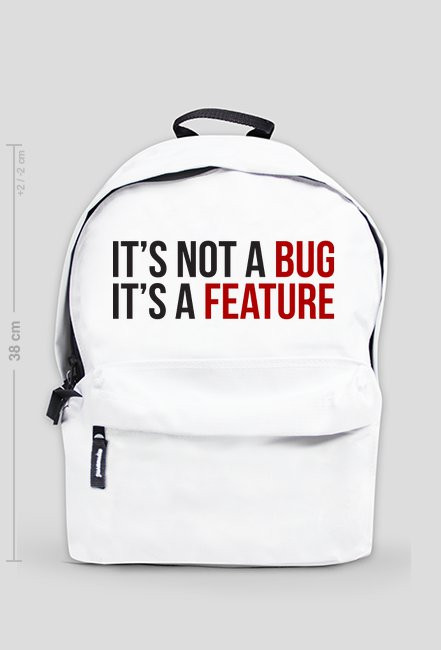 Its not a bug...