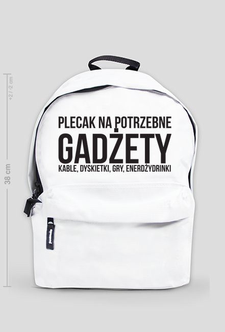 Plecak na potrzebne gadżety