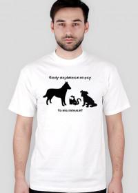 Nie miaucz! - koszulka zwykła