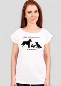 Nie miaucz! - koszulka damska