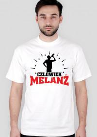 T-Shirt Człowiek Melanż