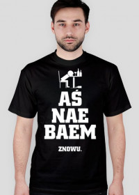 T-shirt AŚNAEBAEM Czarny
