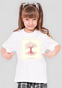 Różowe drzewo - dziecięca