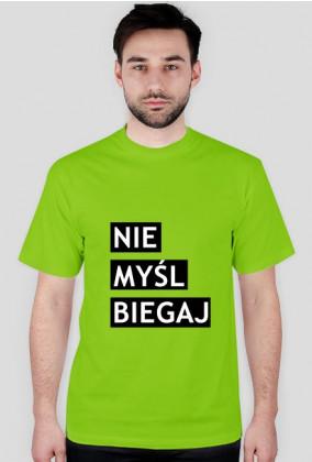 Koszulka męska nie myśl