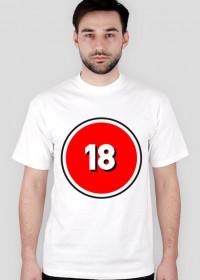 Koszulka +18 W sam raz dla ciebie