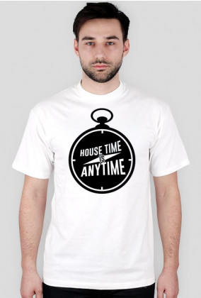 House Time Is Anytime (Biała)