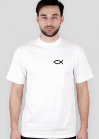 Koszulka chrześcijańska biała