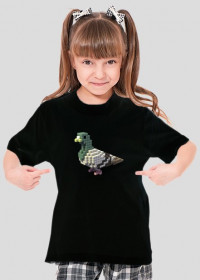 Pixel koszulka dziewczęca