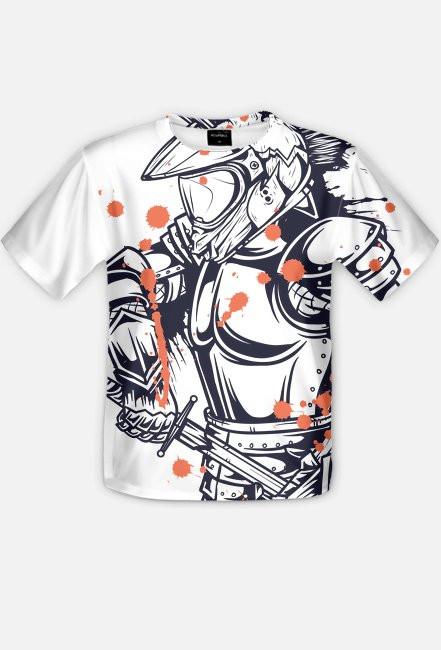 Fullprint - Koszulka motocyklisty - koszulka z pełnym nadrukiem