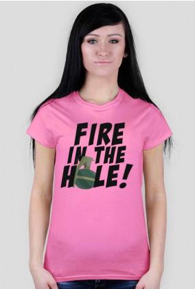 CSGO: Fire in the hole! (Koszulka damska)