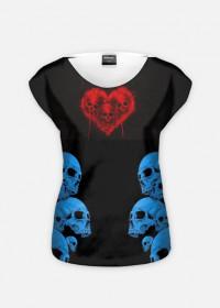 love Skull on the sky