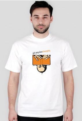 Koszulka męska Lubimyczytać... w każdej pozycji