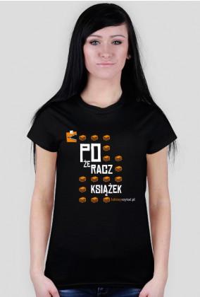 Koszulka damska Pożeracz książek