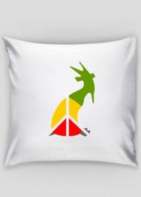 kozioł peace - pillow