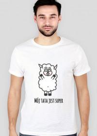 Koszulka Owieczka - Super tata