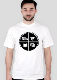 Forum PWr T-shirt Black on White