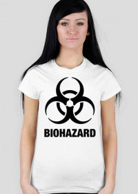 Koszulka damska BIOHAZARD