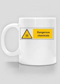 Kubek - niebezpieczne chemikalia
