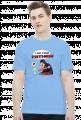 GeekWear - Smerf Wars, Smerfy, Smurfs,  Star Wars, Gwiezdne Wojny, Vader - koszulka męska