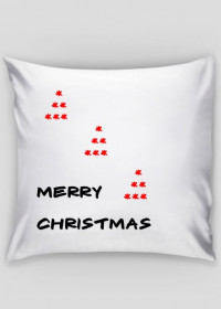 poszewka Świąteczna :)) merry deko